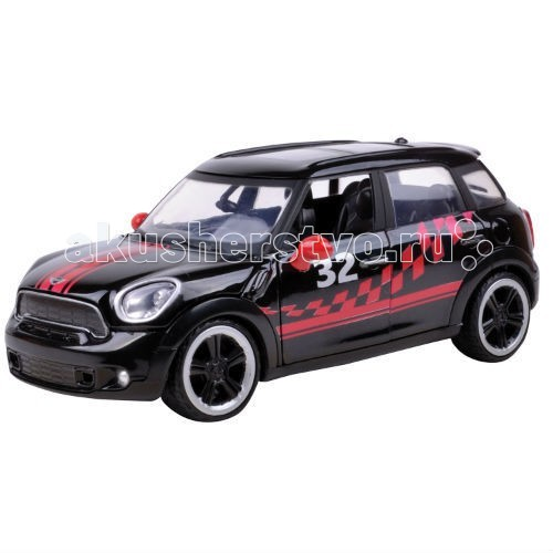 Машины MotorMax Машинка коллекционная 1:24 GT Racing Mini Cooper S Countryman motormax коллекционная машина chrysler c300 1955 motormax