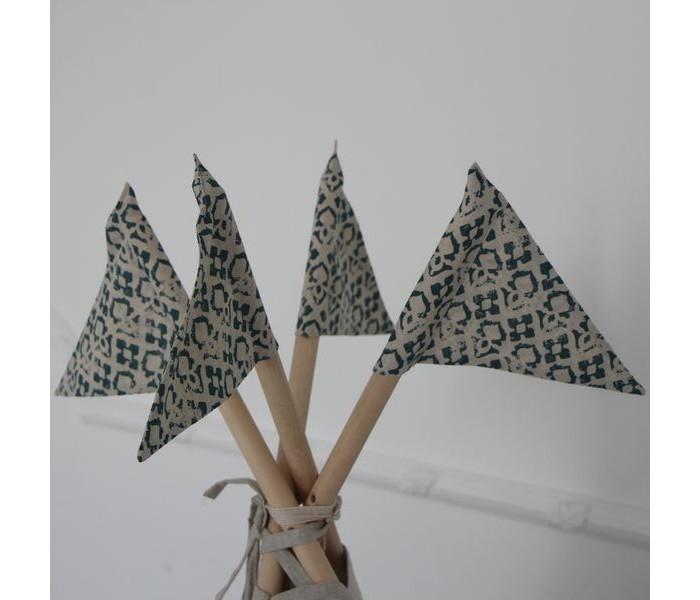 Палатки-домики Kett-Up Флажки Амелия декоративные 4 шт