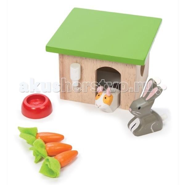 Деревянные игрушки LeToyVan Игровой набор Кролик и морковка деревянные игрушки letoyvan игровой набор кролик и морковка