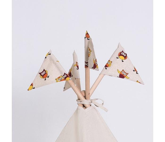 Палатки-домики Kett-Up Флажки Совушки декоративные 4 шт