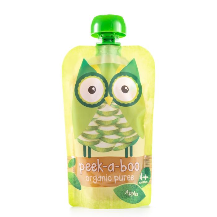 Пюре Peek-а-boo Органическое пюре из яблок с 4 мес. 113 г peek a boo пюре органическое яблоко с 4 месяцев 113 г