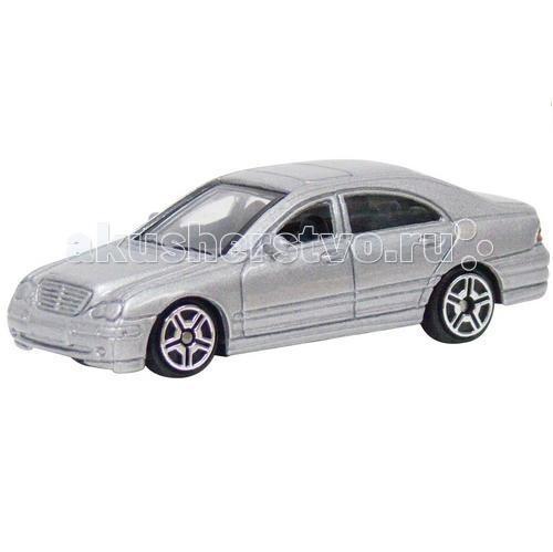 Машины MotorMax Коллекционная машинка Mercedes-Benz C-Class машины motormax машинка коллекционная 1 24 maserati gran turismo