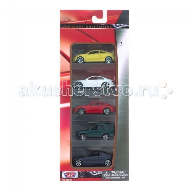 Машины MotorMax Коллекционные машинки Motormax 1:64 Набор A motormax пусковая установка 2 машинки 1 64
