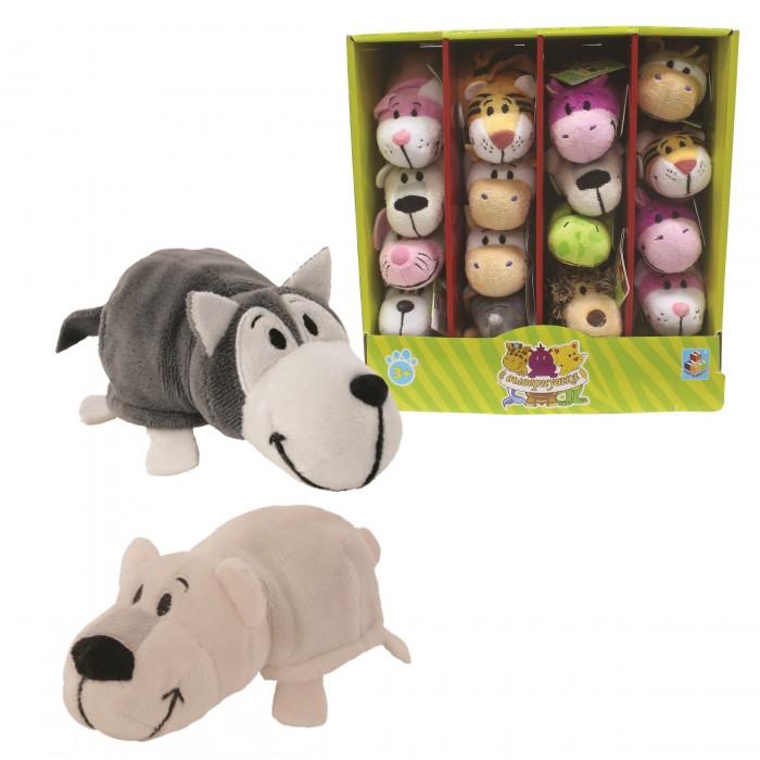 Мягкая игрушка 1 Toy Вывернушка Хаски-Полярный Медведь 2 в 1 12 см ... a895aea161e1b