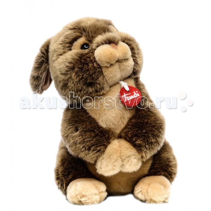 Купить Мягкие игрушки, Мягкая игрушка Trudi Заяц Марселло 30 см