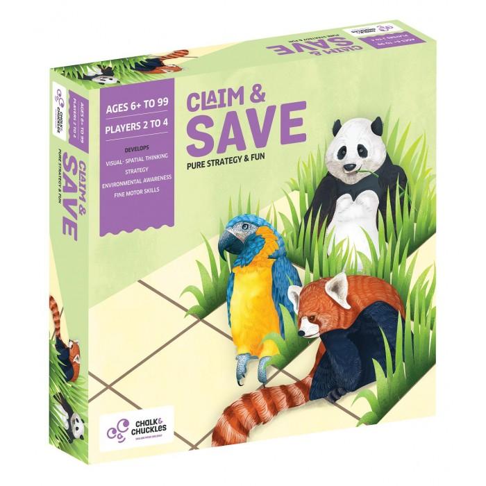 Купить Настольные игры, Chalk&Сhuckles Игра настольная Национальные парки