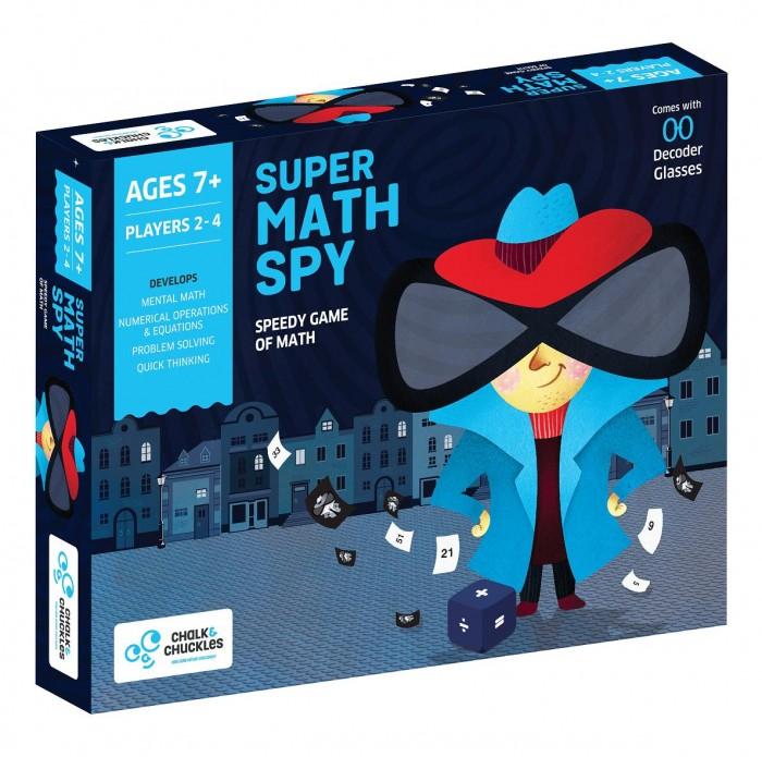Купить Настольные игры, Chalk&Сhuckles Игра настольная Супер-агент математик