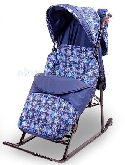 Санки-коляска Rich Toys ЭМИ Komfort складные