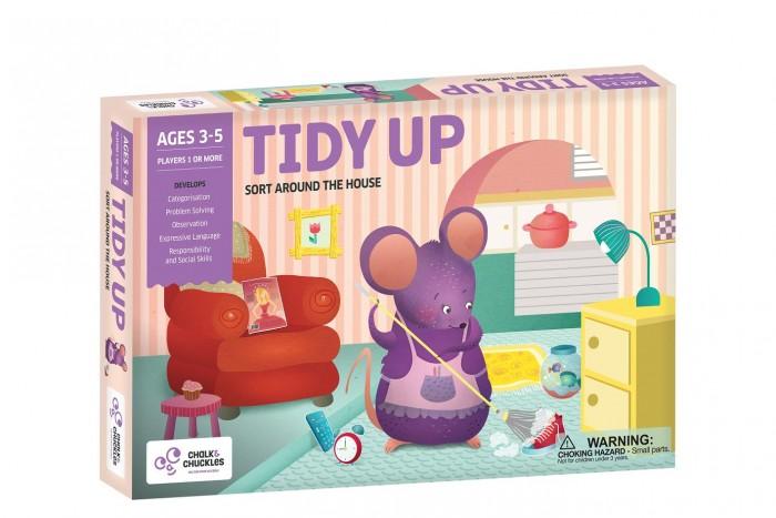 Купить Игры для малышей, Chalk&Сhuckles Игра настольная Уборка