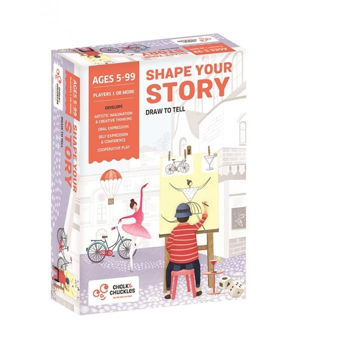 Купить Настольные игры, Chalk&Сhuckles Игра настольная Эскиз твоей истории