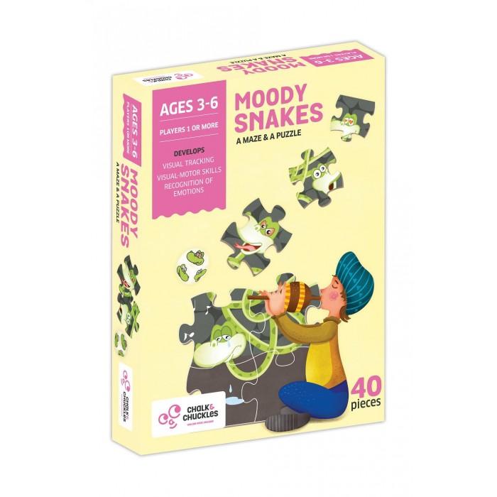 Игры для малышей ChalkСhuckles Игра настольная Капризная змея наклейка для телефона partner змея серебристая