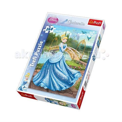 Пазлы Trefl Пазл Волшебное платье 260 деталей рюкзак sland камуфляж 100 1491314