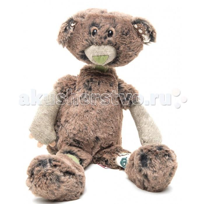 Мягкая игрушка Trudi Мишка Базиль 33 см