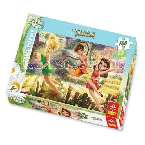 Пазлы Trefl Пазл для девочек Игра Фей - 160 деталей trefl 13114 феи