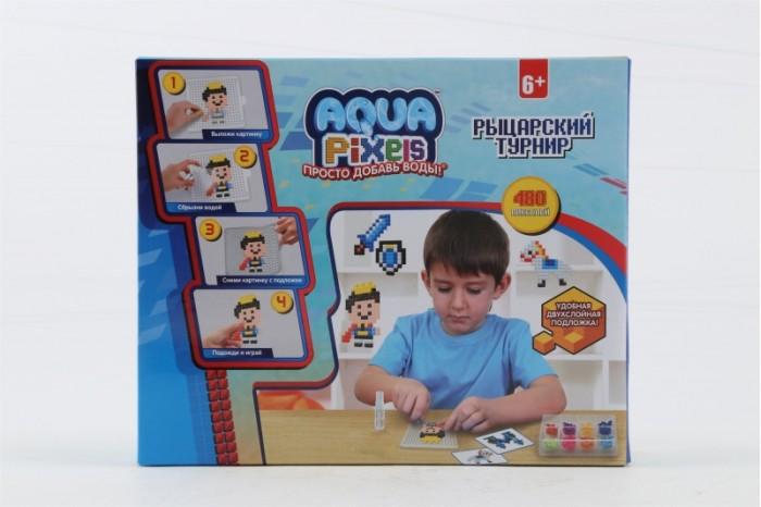 1 Toy Aqua Pixels Водяной пазл Рыцарский турнир 480 деталей