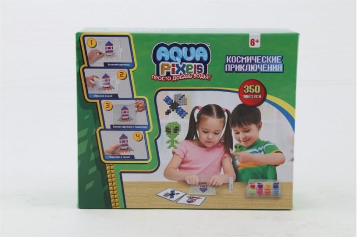 1 Toy Aqua Pixels Водяной пазл Космические приключения 350 деталей