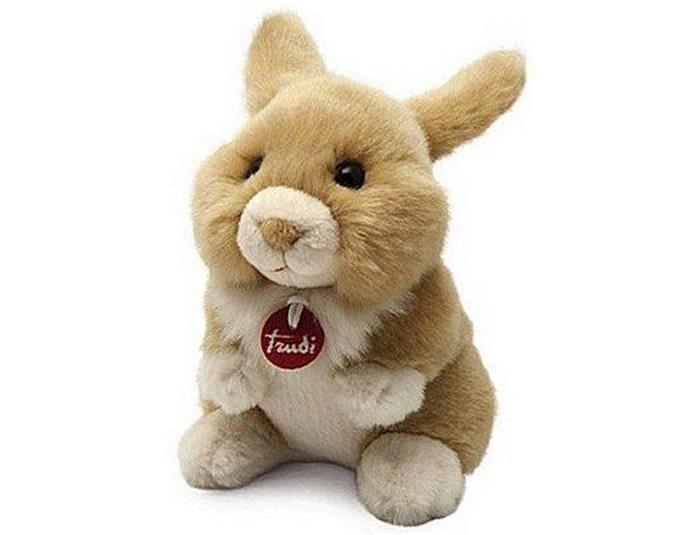 Купить Мягкие игрушки, Мягкая игрушка Trudi Зайчик делюкс 15 см
