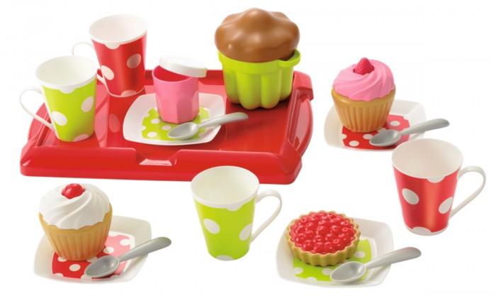 Игровые наборы Ecoiffier Набор завтрак на подносе игровые наборы ecoiffier игровой набор вафельница 22 предмета
