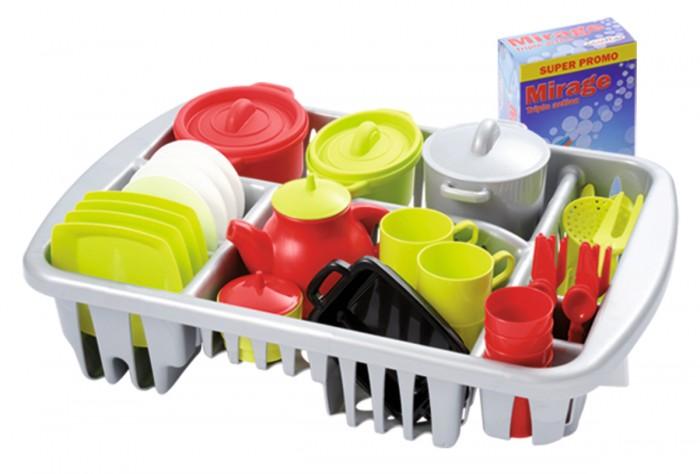 Игровые наборы Ecoiffier Набор посуды (45 предметов) аксессуар для алкоголя akso набор подарочный коньячный на 4 персоны 138ки4
