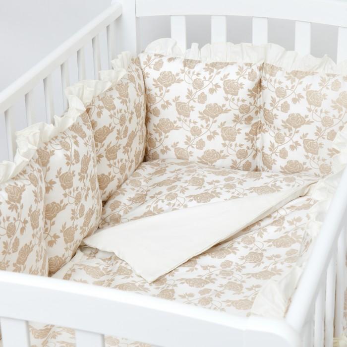 Купить Комплекты в кроватку, Комплект в кроватку Colibri&Lilly Royal Rose Gold (4 предмета)