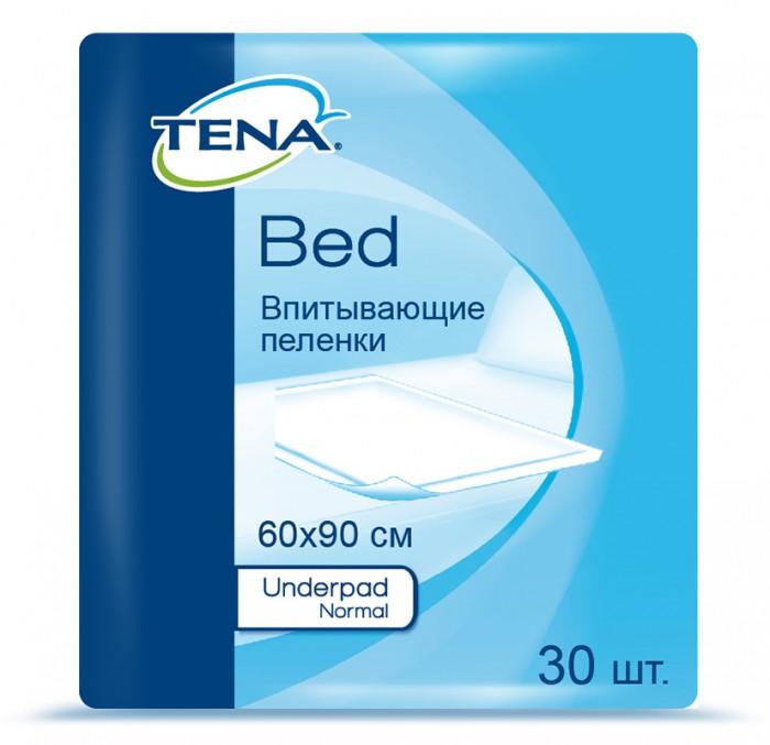 Гигиена и здоровье , Одноразовые пеленки Tena Пеленки Bed Underpad Normal 60x90 см 30 шт. арт: 60560 -  Одноразовые пеленки