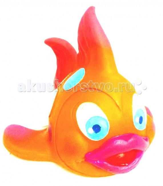 Игрушки для ванны Lanco Латексная игрушка Рыба Лулу большая 2607 игрушки для ванны lanco латексная игрушка из 2 х геометрических фигур 664 2