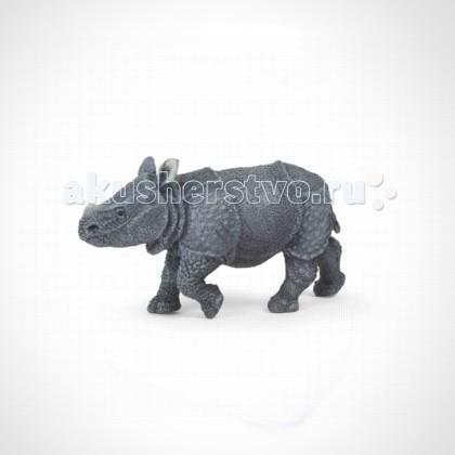 Игровые фигурки Papo Игровая реалистичная фигурка Детеныш индийского носорога игровые фигурки papo игровая реалистичная фигурка цератозавр