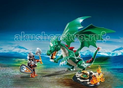 Конструкторы Playmobil Рыцари: Великий Дракон playmobil® экстра набор рыцарь с драконом playmobil