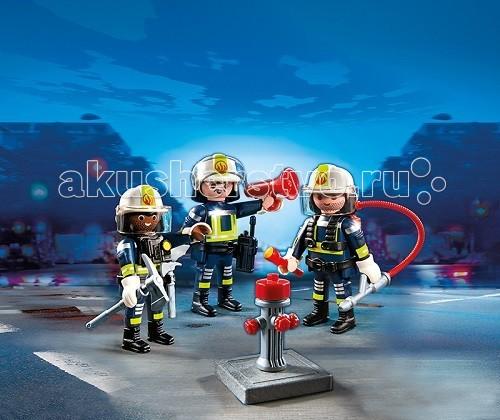 Конструкторы Playmobil Пожарная служба: Команда пожарников пособия для пожарных частей