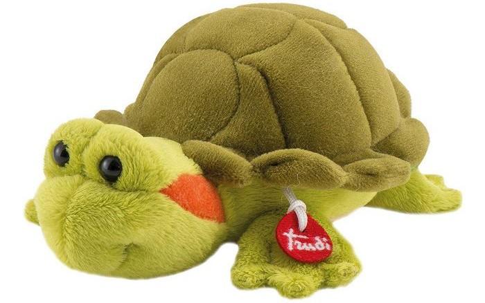 Купить Мягкие игрушки, Мягкая игрушка Trudi Черепашка 15 см