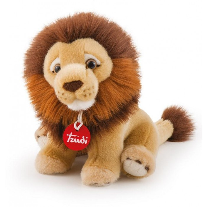 Купить Мягкие игрушки, Мягкая игрушка Trudi Лев Нарцис 27 см