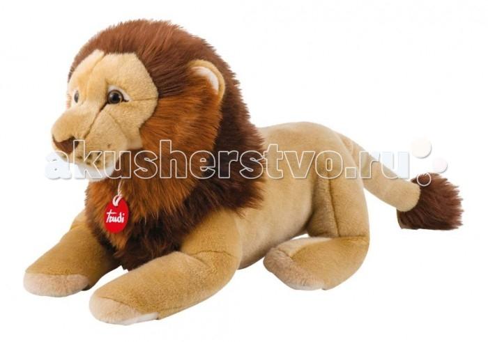 Фото - Мягкие игрушки Trudi Лев Нарцис 38 см мягкие игрушки trudi лев нарцис 27 см