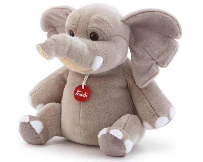 Купить Мягкие игрушки, Мягкая игрушка Trudi Слон Элио 29 см