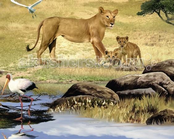 Ravensburger Пазл Животные Африки с видео-анимацией 1000 элементов