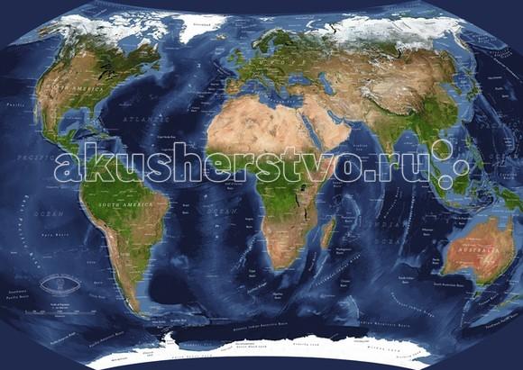 Пазлы Ravensburger Пазл Планета Земля с видео-анимацией 1000 элементов