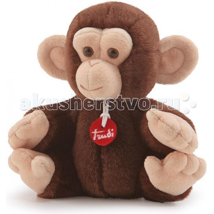 Купить Мягкие игрушки, Мягкая игрушка Trudi Обезьянка делюкс 15 см