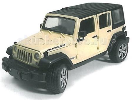 Машины Bruder Внедорожник Jeep Wrangler Unlimited Rubicon siku внедорожник jeep wrangler с прицепом для перевозки лошадей
