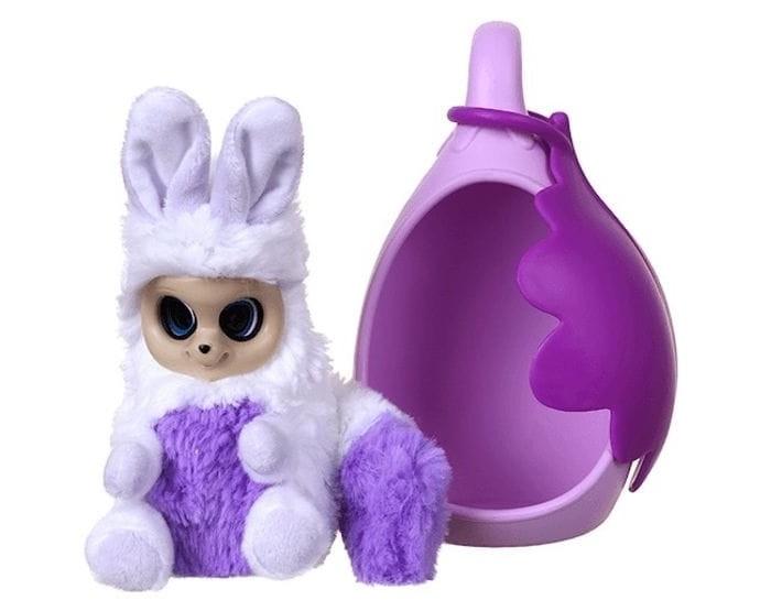 Мягкая игрушка Bush Baby world Аби со спальным коконом 17 см