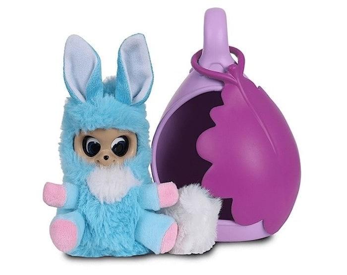 Мягкая игрушка Bush Baby world Адеро со спальным коконом 17 см