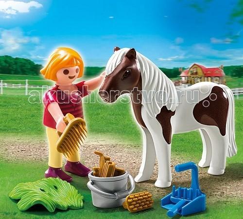 Playmobil Дополнение: Девочка и пони