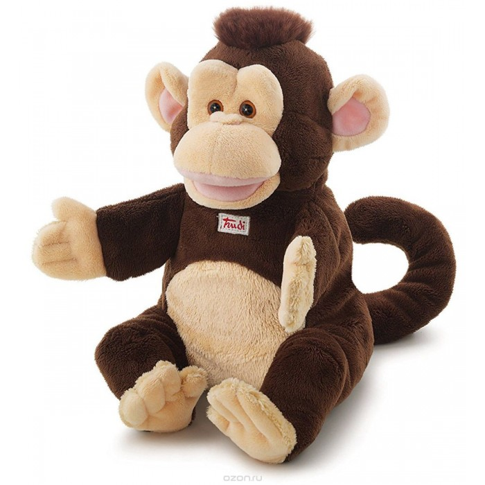 Купить Ролевые игры, Trudi Мягкая игрушка на руку Обезьяна 32 см
