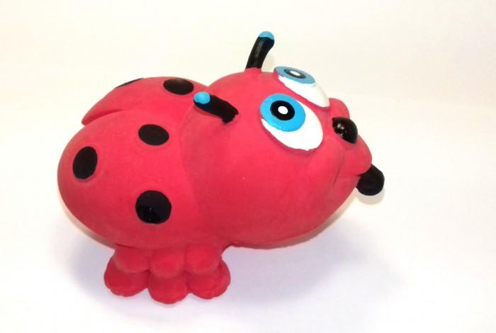 Игрушки для ванны Lanco Латексная игрушка Божья коровка разноцветная 814