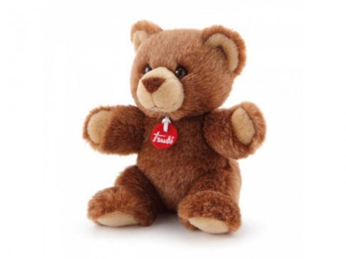 Купить Мягкие игрушки, Мягкая игрушка Trudi Мишка 15 см 52187