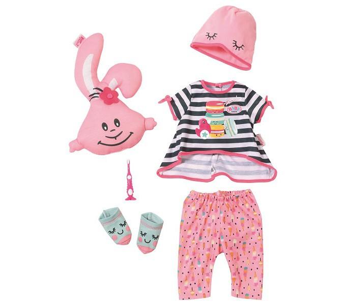 Куклы и одежда для кукол Zapf Creation Baby born Набор одежды Пижамная вечеринка