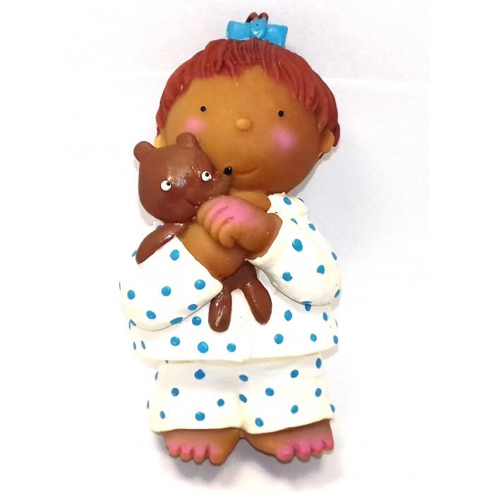 Игрушки для ванны Lanco Латексная игрушка Девочка с медвежонком 1317 игрушки для ванны lanco латексная игрушка жираф мальчик 1207