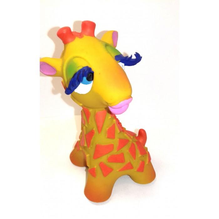 Игрушки для ванны Lanco Латексная игрушка Жираф-девочка 1206 игрушки для ванны lanco латексная игрушка жираф мальчик 1207