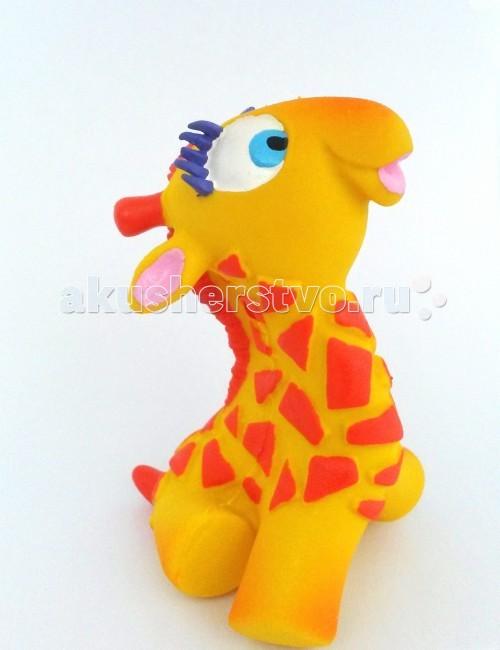 Игрушки для ванны Lanco Латексная игрушка Жираф-мальчик 1207 кислотные красители в алматы
