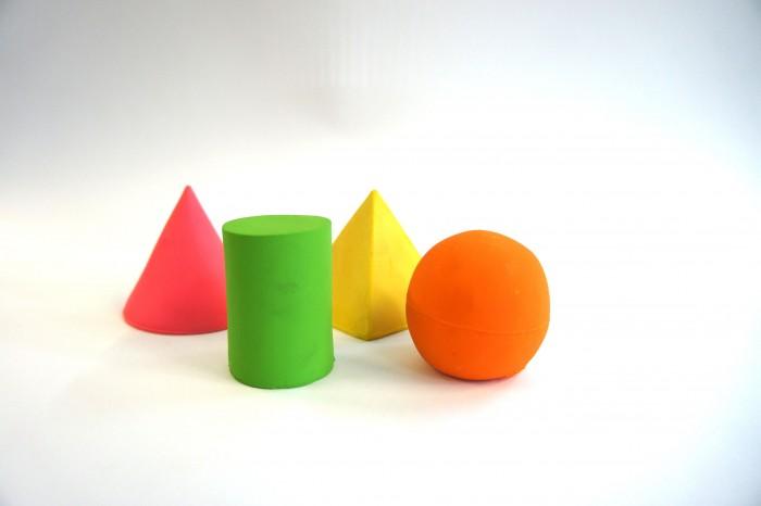 Lanco Латексная игрушка из 4-х геометрических фигур 664/4