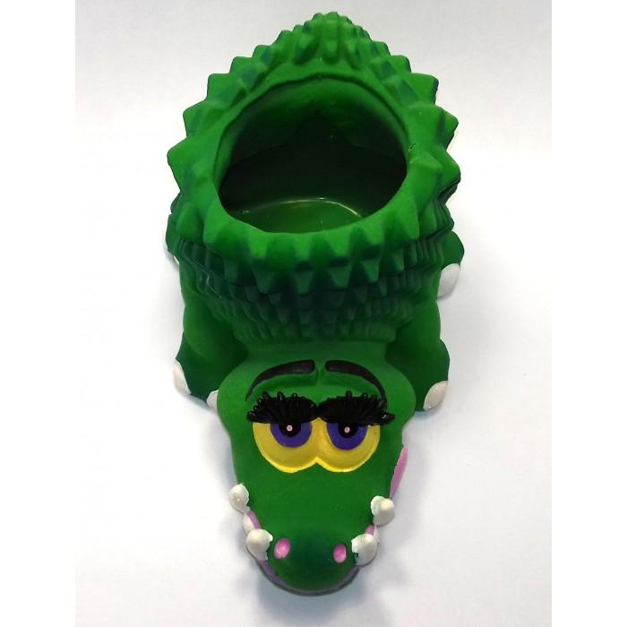 Игрушки для ванны Lanco Латексная игрушка Крокодил 4142 игрушки для ванны lanco латексная игрушка жираф мальчик 1207