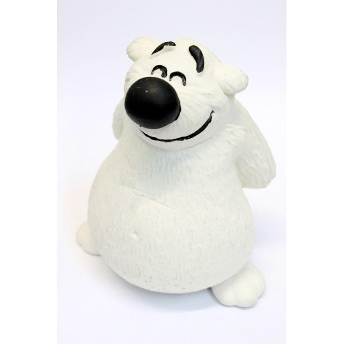 Игрушки для ванны Lanco Латексная игрушка Медведь белый 1031 игрушки для ванны lanco латексная игрушка жираф мальчик 1207